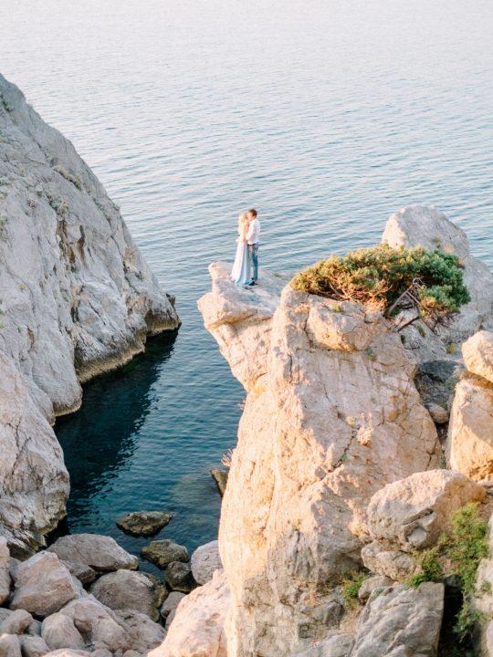 Диана и Дима. Предсвадебная фотосъемка лавстори в Крыму