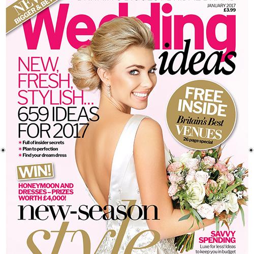 Наши снимки на страницах Wedding Ideas Magazine