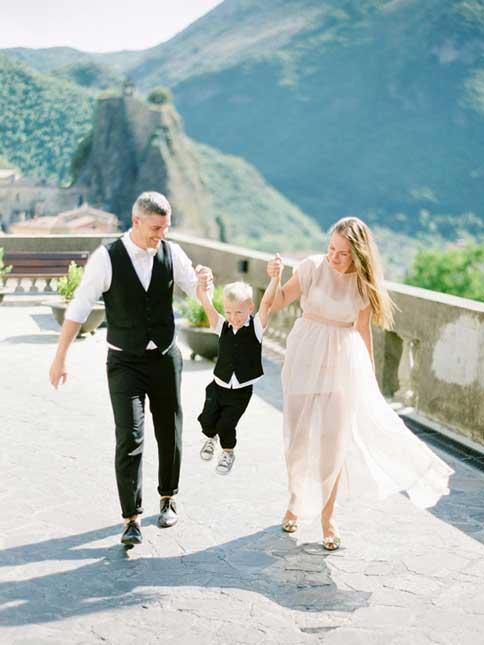 Семейная съемка (Италия)
