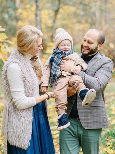 Осенняя семейная Fine Art съемка