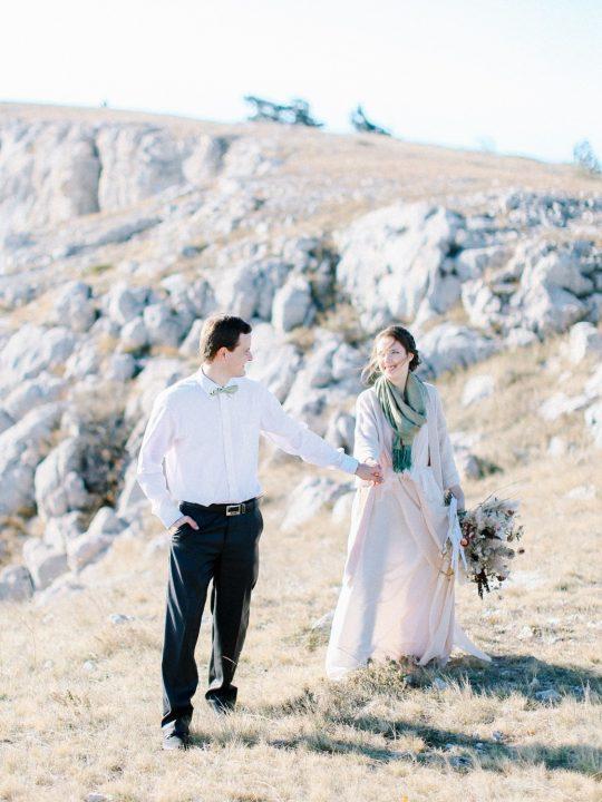 Наташа и Паша. Свадебная фотосессия в Крыму на Ай-Петри. Фотограф Крым