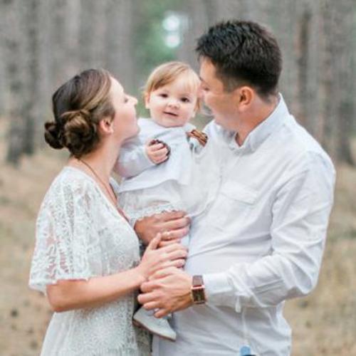 Женя, Ева и Серёжа .  Семейная фотосъёмка, семейный фотограф в Крыму